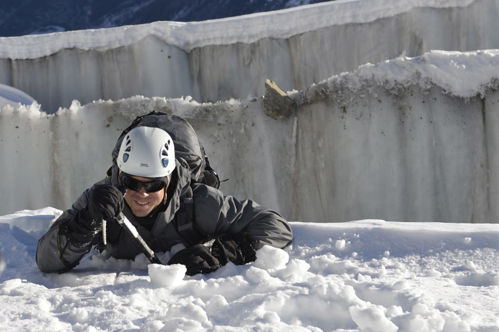 Rescue from crevasses